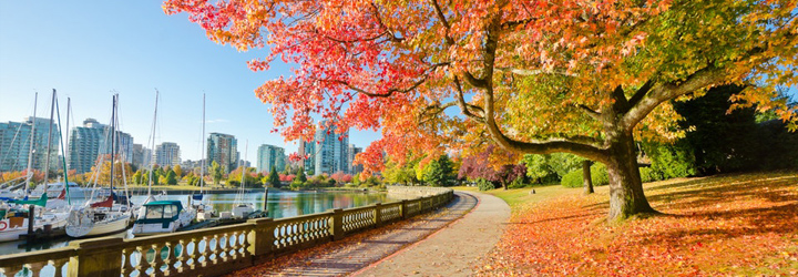 The Seawall in Vancouver